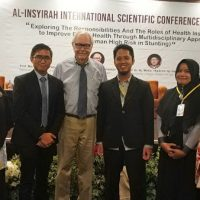 3 MEET Lecturers Contribute as Moderator and Oral Presenter in AISCH 2018